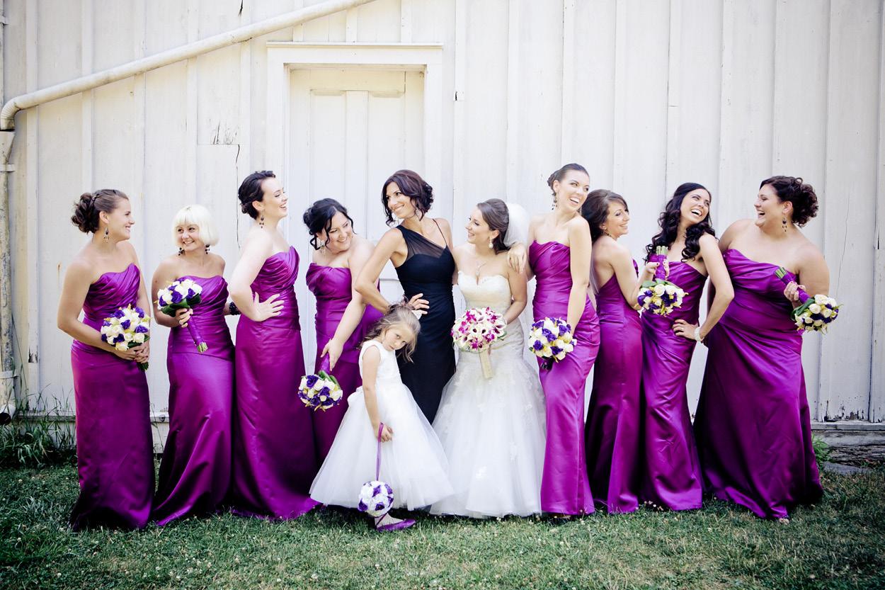 Orchid Purple Bridesmaid Dresses Gallery - Braidsmaid Dress ...